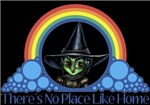 With all the colors of the rainbow, this Wonderful Wizard of Oz inspired design capturesWicked Witch of the West There's No Place Like Home.  The perfect gift for any Oz fan.
