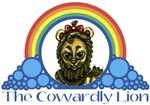 With all the colors of the rainbow, this Wonderful Wizard of Oz inspired design captures Rainbow - The Cowardly Lion.  The perfect gift for any Oz fan.