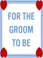 ALL ABOUT THE GROOM