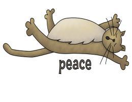 CAT PEACE