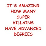 a funny super villain joke on gifts and t-shirts.