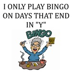 bingo gifts and t-shirts