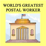 world's greatest postal worker gifts t-shirts