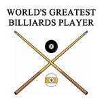 world's greatest billiards gifts t-shirts presents