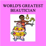 world's greatest beautician gifts t-shirts
