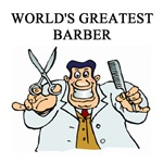 world's greatest barber gifts t-shirts