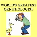 world's greatest ornithologist gifts t-shirts