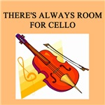 CELLO CELLIST GIFTS T-SHIRTS PRINTS