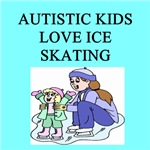 autistic girls ice skating