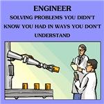 engineer engineering joke gifts t-shirts