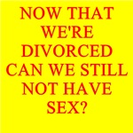 a funny divorce joke