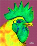 Green/Yellow Rooster