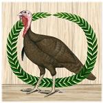 Turkey and Wreath