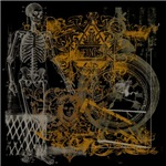 Finis Skeleton Graphic Art