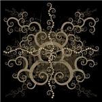Spiral1 Graphic Art T Shirt