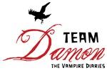 The Vampire Diaries Team Damon Shirts