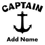 Personalized Captain Shirts