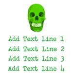Personalized Green Skull Shirts