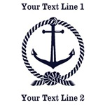 Personalized Anchor Tees