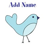 Blue Bird Custom Name