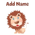 Cute Lion Custom Name Gifts