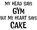 Gym vs. Cake