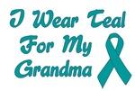 Ovarian Cancer Support Grandma T-shirts