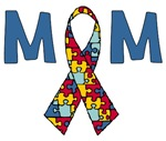 Autism Ribbon Mom Mother's Day Gift Ideas
