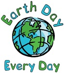 Earth Day, Every Day T-shirts