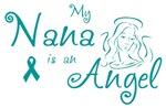 Ovarian Cancer Angel Nana T-shirts