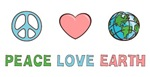Peace Love Earth T-shirts