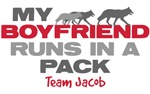 My Boyfriend Runs In a Pack Shirt
