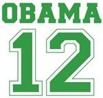 Irish Green Team Obama Shirts