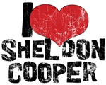 Vintage I Love Sheldon Cooper Shirt