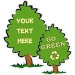 Custom Go Green Recycle Shirts