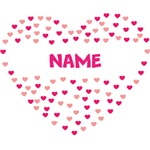 Personalized Heart Name Shirts