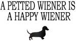 A Petted Wiener Is A Happy Wiener
