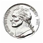 1985 U.S. Nickel