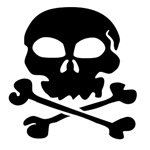 Scary Halloween Skull And Bones T-Shirts & Gifts