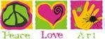 Peace Love Art