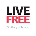 Live Free Go Gary (White)