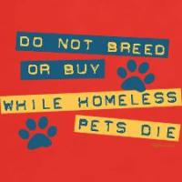 Do Not Breed or Buy Labels