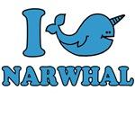 i love narwhal