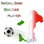 Natural born soccer player