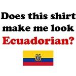 Does This Shirt Make Me Look Ecuadorian?