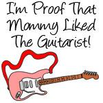 Proof Mommy Liked Guitarist Pink