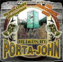 Porta John hunting blinds makes the perfect funny