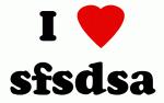 I Love sfsdsa