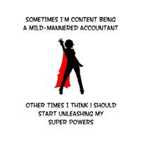 Accountant Superheroine