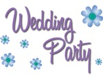 Wedding Party - Purple